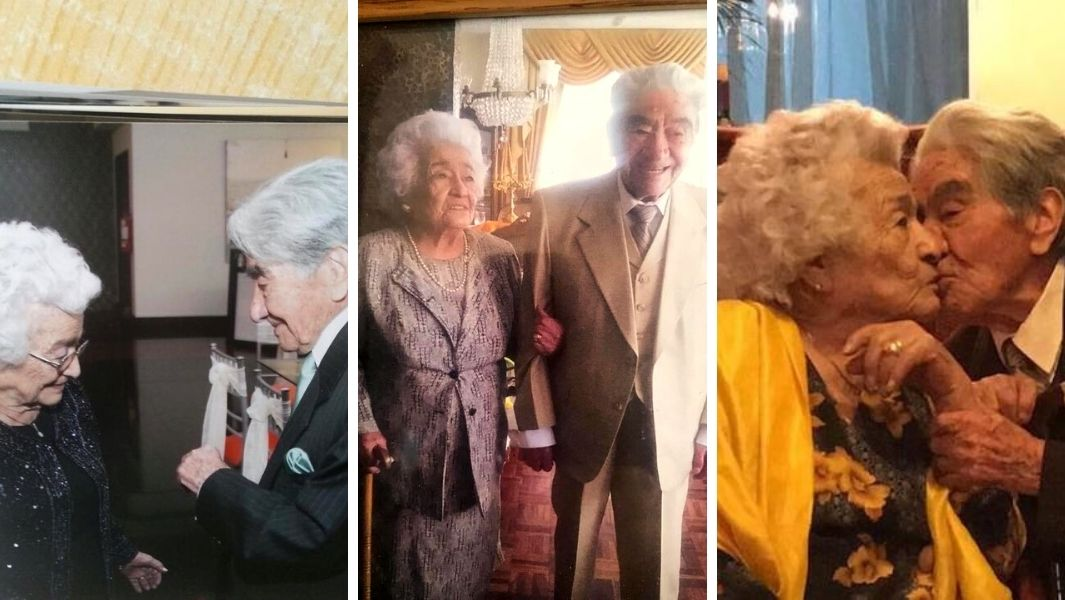 Three-pictures-of-Julio-and-Waldramina-the-oldest-married-couple