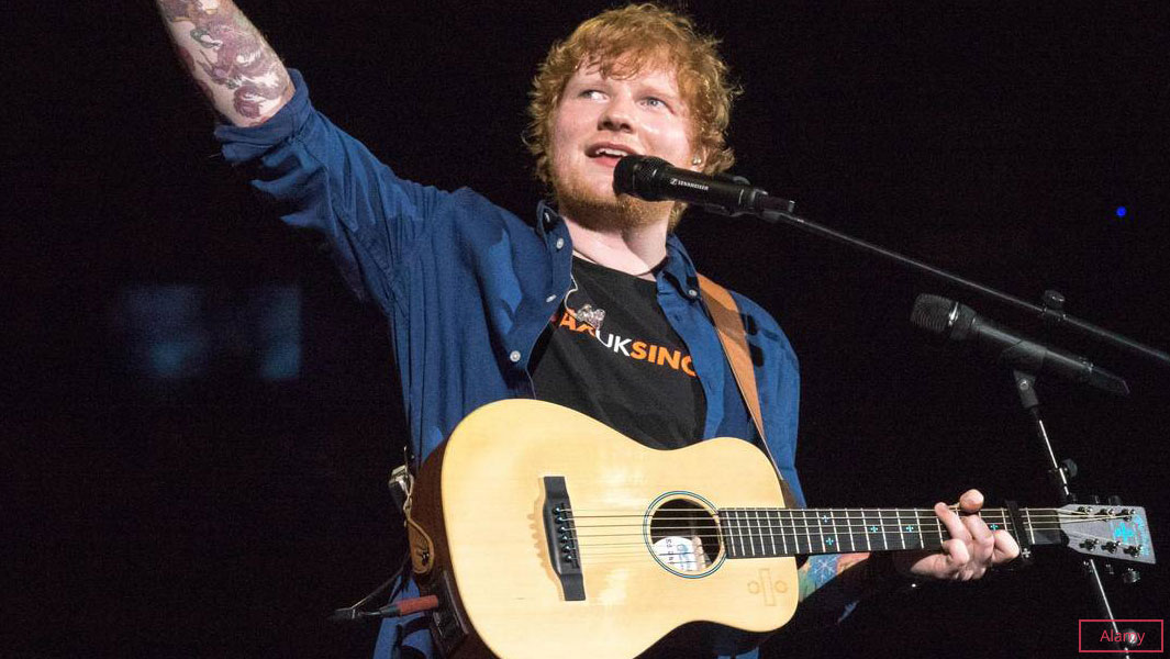 A turnê mundial de Ed Sheeran, ÷ [Divide] Tour conseguiu três títulos do Guinness World Records