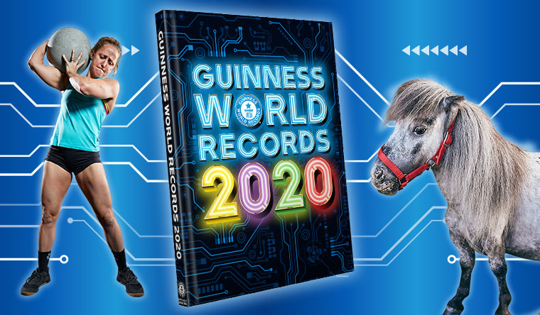 Guinness World Records 2020 - Michelle Kinney and Bombel