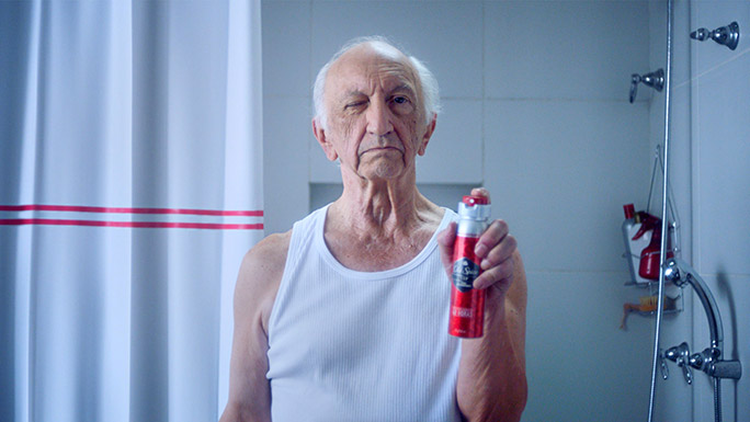 Old Spice longest TV commercial old man